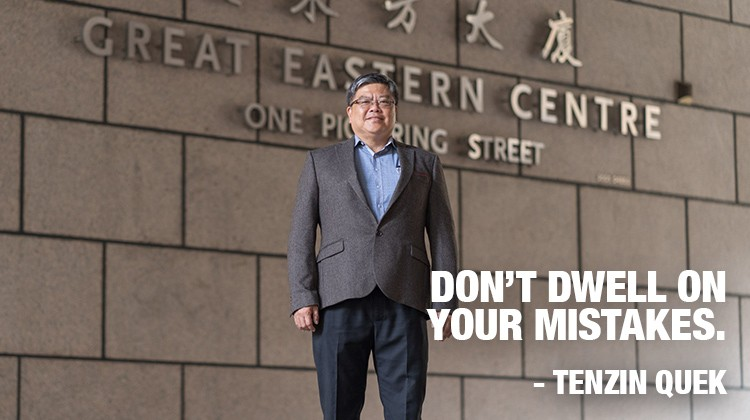 Tenzin Quek - Don't dwell on your mistakes