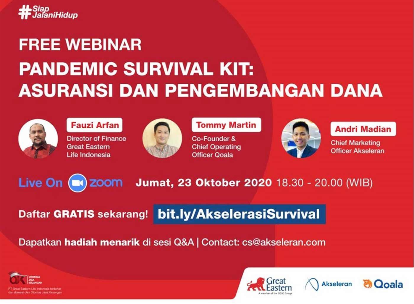 Financial Literacy Session: Pandemic Survival Kit