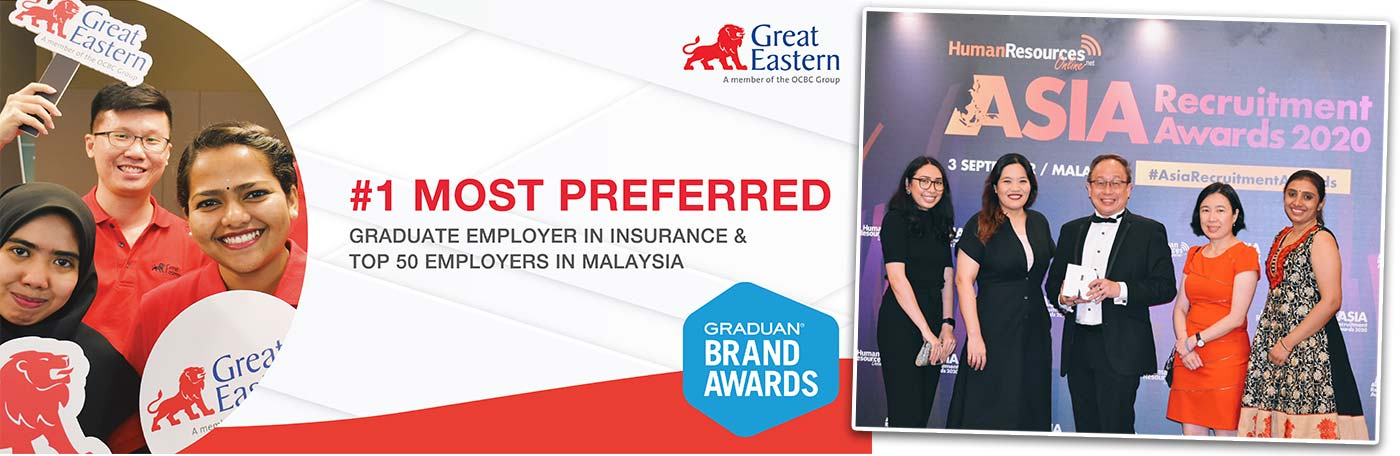 Great Eastern Wins Awards and Accolades Across the Region