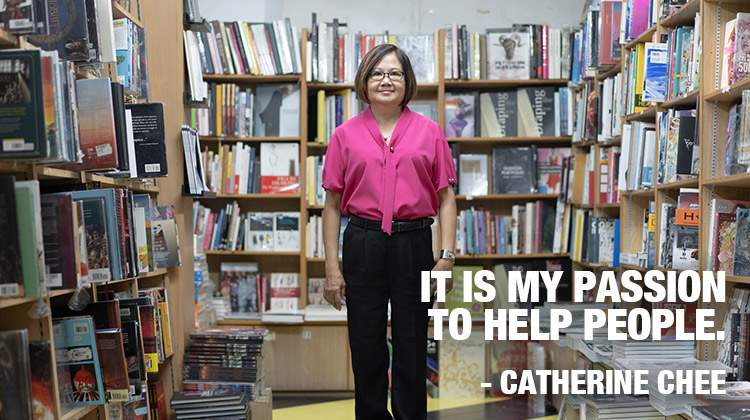 Catherine Chee. It is my passion to help people