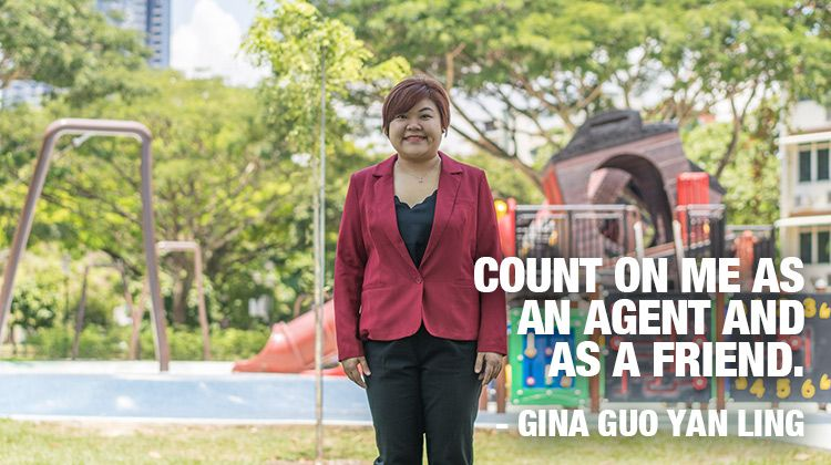 Gina Guo. Count on me as an agent and as a friend