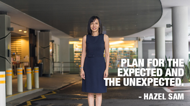 Hazel Sam. Plan for the expected and unexpected
