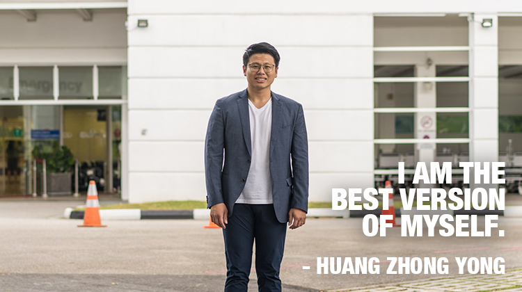 Huang Zhong Yong. I am the better version of myself
