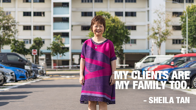 Sheila Tan. My clients are my family too