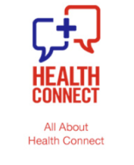 Image Of Health Connect FAQ Header