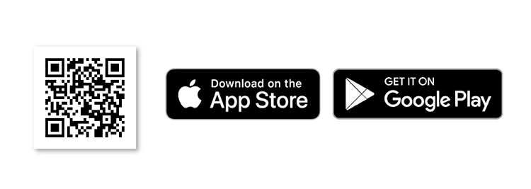 Icon of App Store and Google Play Doctor Anywhere App Download