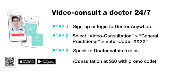 Video-consult a doctor 24/7