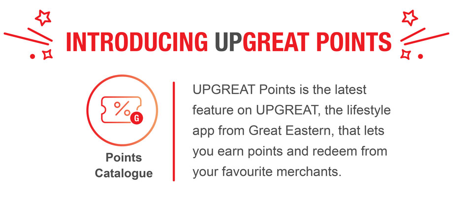 UPGREAT Points Catalogue